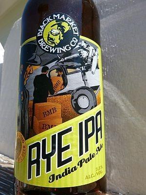 Black Market Brewing Rye IPA