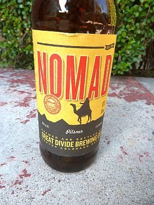 Great Divide Brewing Nomad Pilsner