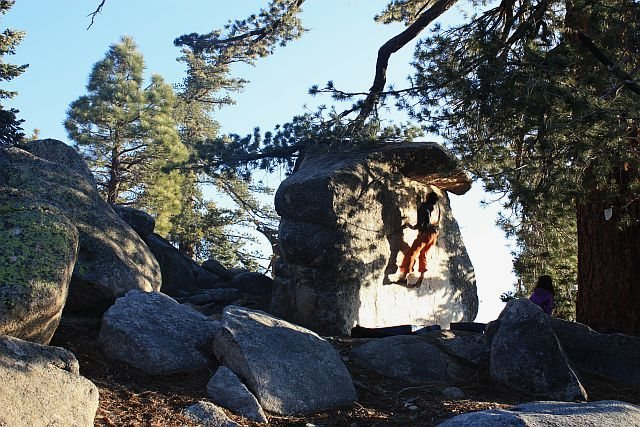 Rock Climbing Photo: Afternoon bouldering, Black Mountain