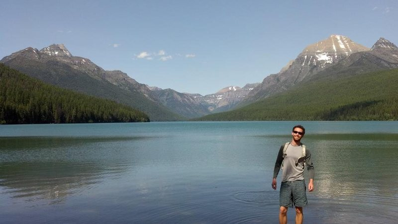 Rock Climbing Photo: Glacier National Park
