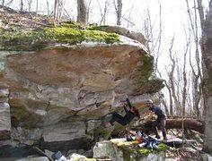 Rock Climbing Photo: Sarene Cullen on Green Thumb