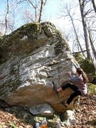 "Rock Climbing Photo: Sarene Cullen on ""Unsinkable"""