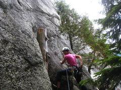 Rock Climbing Photo: yeah baby
