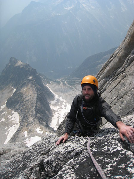 Rock Climbing Photo: bugaboos unknown route