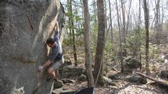 Rock Climbing Photo: Checking my method