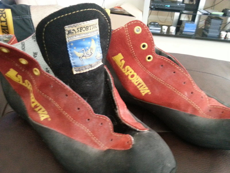 Rock Climbing Photo: La Sportiva Shoes