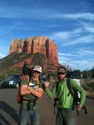 Rock Climbing Photo: Men and muscle post FFA 4.13.13