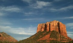 Rock Climbing Photo: Justice of the Peace,Courthouse Butte