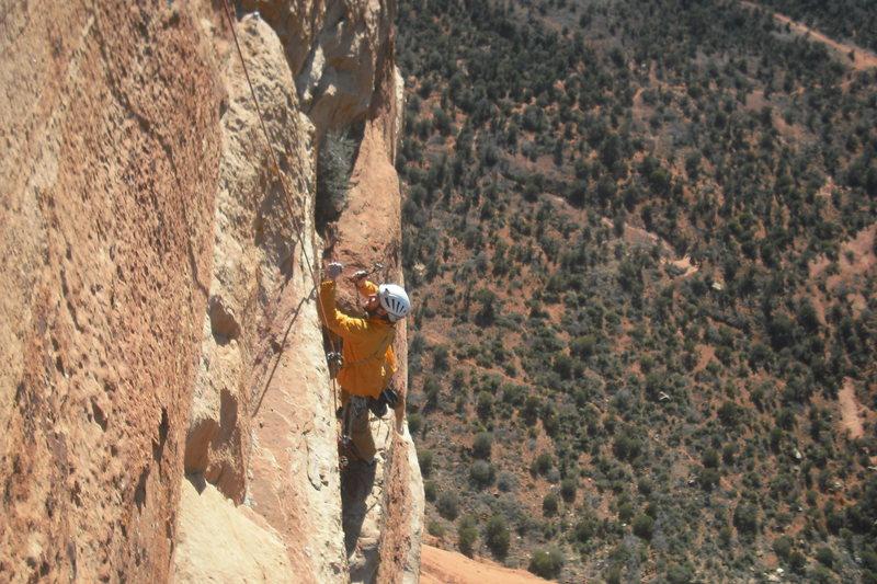 Rock Climbing Photo: Tap it in