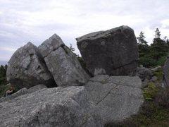 Rock Climbing Photo: Trailer Boulders