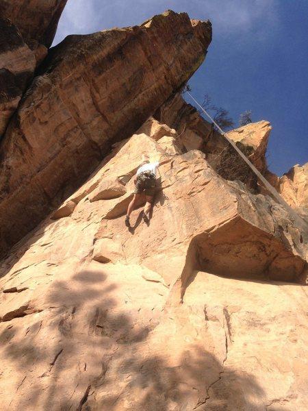 Climbing :)