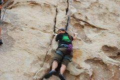 Rock Climbing Photo: DQ in JT