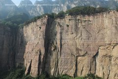 "Rock Climbing Photo: A shot from the B-section wall (""Battery Wall..."