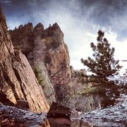 Rock Climbing Photo: Another visit to my favorite puddle... Redgarden W...