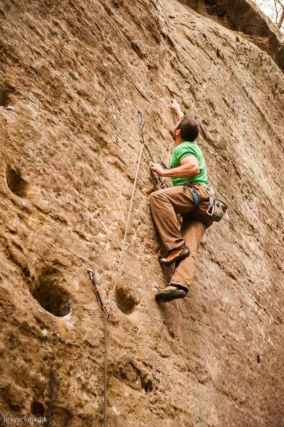 Rock Climbing Photo: Hidden Treasure - Killer Route!!