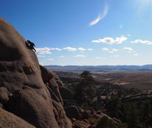 Rock Climbing Photo: Dome Rock. WYOMING