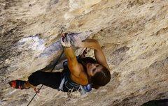 Rock Climbing Photo: Ten Sleep Canyon