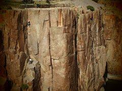 Rock Climbing Photo: i heart Fremont Canyon. Wyoming