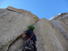 Rock Climbing Photo: We were psyched to try this one, until we got on i...