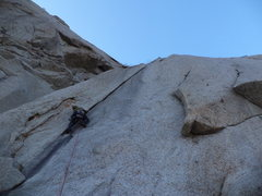 Rock Climbing Photo: Court in the glorious hands section