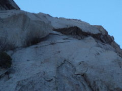 Rock Climbing Photo: From lower