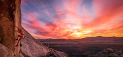 Rock Climbing Photo: Sunset at Joshua Tree