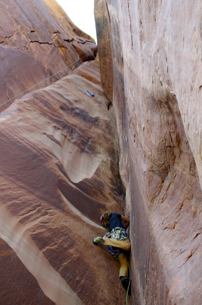 Rock Climbing Photo: pitch is really frustrating
