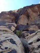 Rock Climbing Photo: Hueco Thanks 5.7 p2