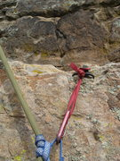 Rock Climbing Photo: The TR hook I worked off, an' if you been on this ...