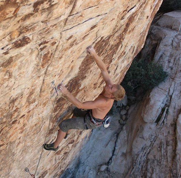 Very fun movement throughout this climb.
