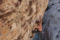 Rock Climbing Photo: The rest jug.