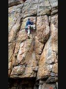 Rock Climbing Photo: Jay on GH.