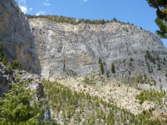 Rock Climbing Photo: East Face of Universal Wall; Sesame Street in mid ...