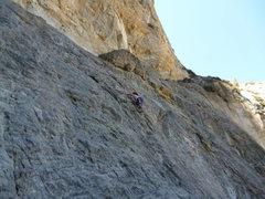 "Rock Climbing Photo: Micca cruises ""Grover Explains Near and Far&q..."