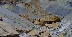 Rock Climbing Photo: The third cluster of boulders, if approaching from...