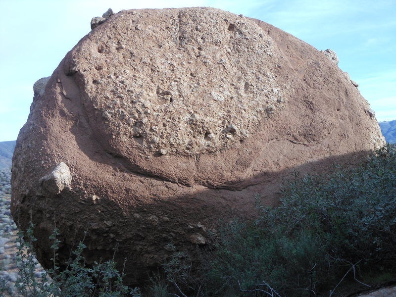 "Rock Climbing Photo: The unique rock sculpture of ""Saturn Boulder,..."