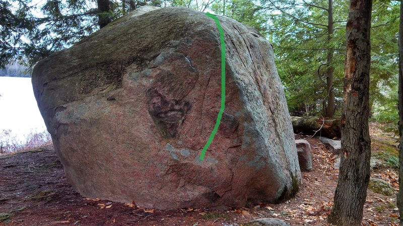 Rock Climbing Photo: Pirates beta