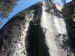 Rock Climbing Photo: New Deviations starts at the bottom of the off-wid...