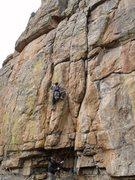 Rock Climbing Photo: Kurt on GH.