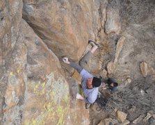 Rock Climbing Photo: Steve on GH.
