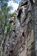 Rock Climbing Photo: Eric P. enjoying the lovely symphony of Great Mass...