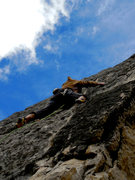 Rock Climbing Photo: Dr. Robert Frost is Tasting Time.