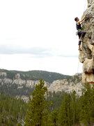 Rock Climbing Photo: Dr. Frost making his way up Ka-Pow!