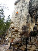 Rock Climbing Photo: I really recommend this stellar route. Fun pockets...