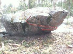 Rock Climbing Photo: The Don showing Mood Swings (V10)