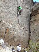Rock Climbing Photo: Gino chilling.