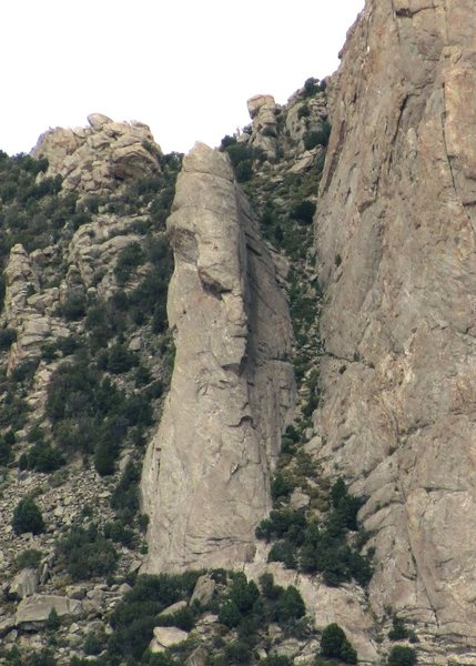 Rock Climbing Photo: Jackson's Thumb is a subsidiary summit of Steinfel...