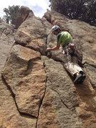 Rock Climbing Photo: Glen.