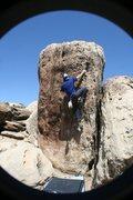 Rock Climbing Photo: Golden v1 highball