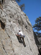 Rock Climbing Photo: Jake. We used the anchor for Quick Chill, as there...